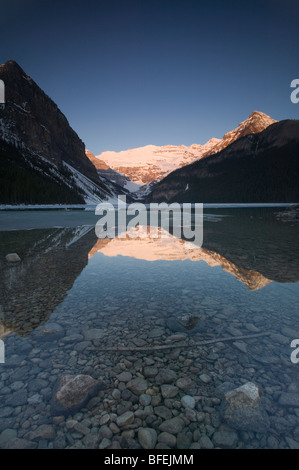 Lake Louise, Banff National Park, Alberta, Canada - Stock Photo