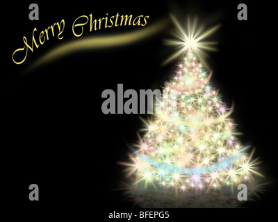 Background of New Year and Christmas - Stock Photo