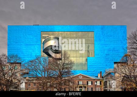 Rear wall of Art Gallery of Ontario, Toronto, Ontario, Canada - Stock Photo
