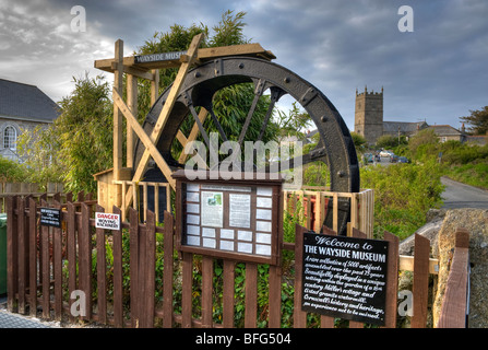 The Wayside Museum at Zennor in Cornwall,England,'Great Britain','United Kingdom',GB,UK,EU - Stock Photo