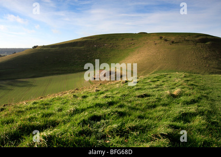 Cley Hill, Wiltshire, England, UK - Stock Photo