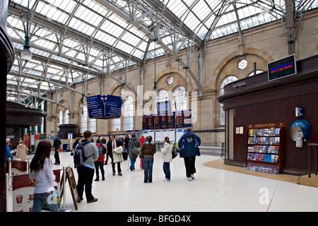 Glasgow Central Railway Station, Scotland, UK. - Stock Photo
