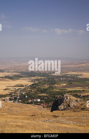 Area around the ancient Hittite capital city site of Hattusas, Bogazkale, Hattusas National Park, Central Anatolia, - Stock Photo