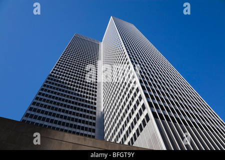 Place Ville-Marie building, Montreal, Quebec, Canada - Stock Photo
