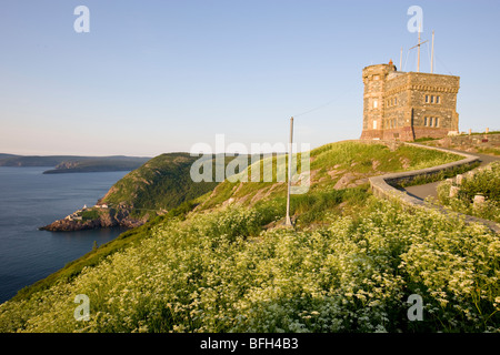 View from Signal Hill national historic site, St. John's, Newfoundland, Canada - Stock Photo