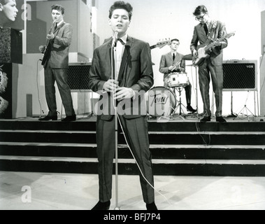 CLIFF RICHARD AND THE SHADOWS on a TV show in January 1961 - Stock Photo