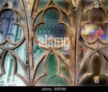 ES - MALLORCA: La Seu Cathedral at Palma de Mallorca (Digital Art) - Stock Photo