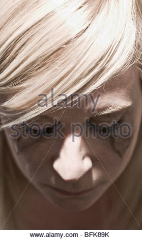 Young woman crying - Stock Photo