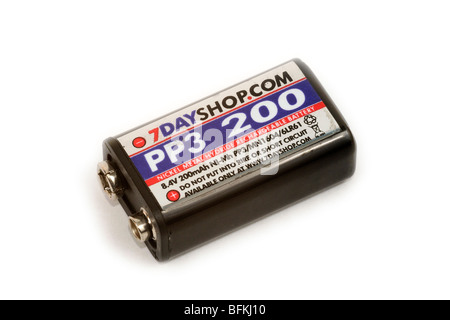 Rechargeable NiMH Battery - Stock Photo