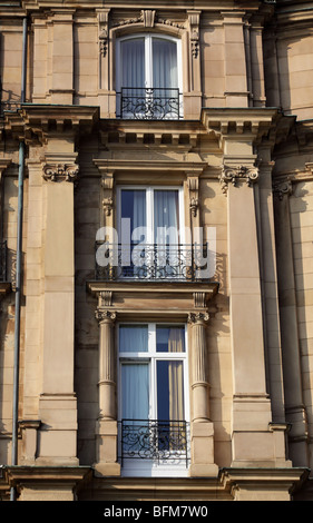 Windows on a facade - Stock Photo