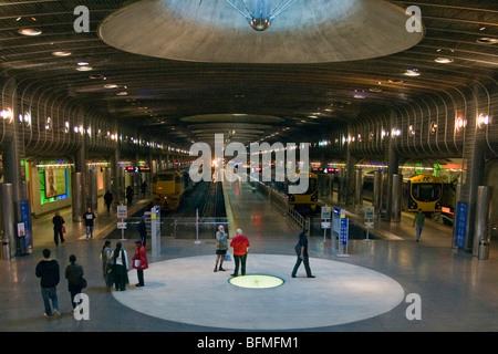 Britomart Railway Station, Auckland, New Zealand, Monday, September 14, 2009. - Stock Photo