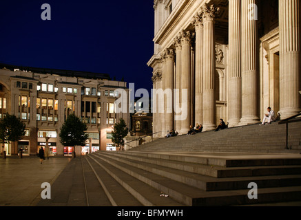 England, London. London St. Paul's Cathedral - Stock Photo