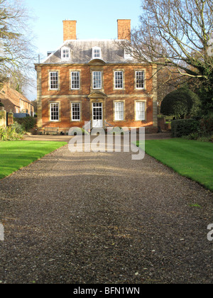 A large period house in the U.K. - Stock Photo