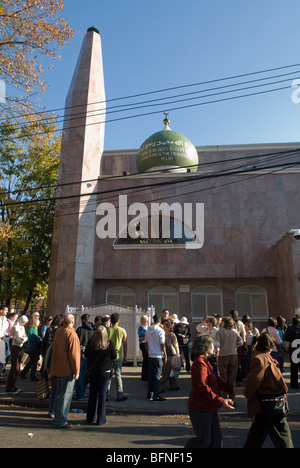 Muslim Center of New York during the Queens Interfaith Unity Walk - Stock Photo