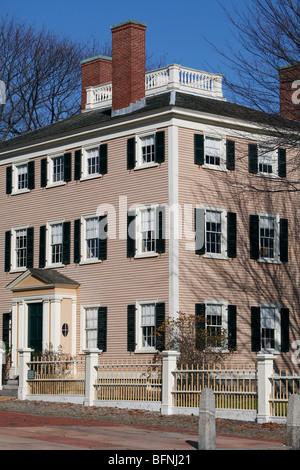 Hawkes House 1780, Salem, Massachusetts - Stock Photo