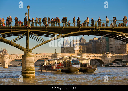 PONT DES ARTS, PARIS - Stock Photo