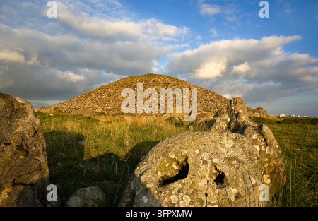 Cairn T Passage Grave, Loughcrew Meagalithic Site, Slieve na Calliagh, Near Oldcastle, County Meath, Ireland