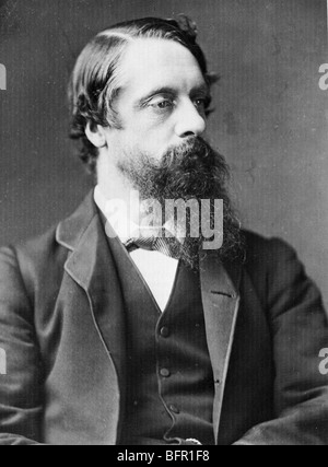 LORD FREDERICK CHARLES CAVENDISH  (1836-1882)  English Liberal politician who became Chief Secretary for Ireland - Stock Photo