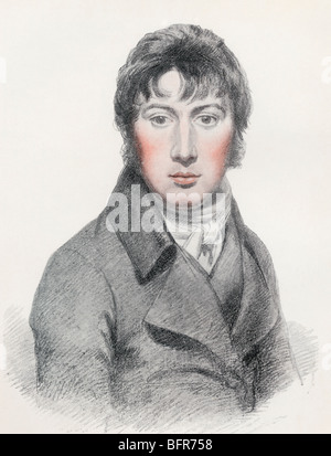 John Constable, 1776 to 1837. English Romantic painter. - Stock Photo