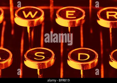 An Old Remington Typewriter Stock Photo 135606372 Alamy