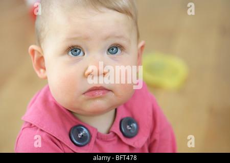 Portrait of Baby Girl