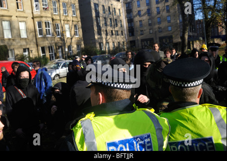 NATO protest - Edinburgh.  13th Nov. 2009 - Stock Photo