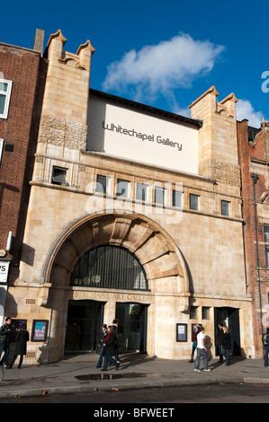 Whitechapel Gallery in Aldgate East, London, England, Britain, UK - Stock Photo