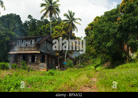 Bathurst Krio Village, Sierra Leone - Stock Photo