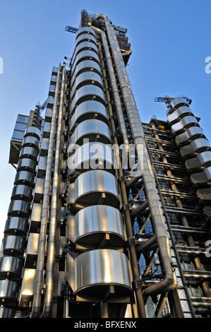 Lloyds Building, One Lime Street, London EC3, United Kingdom - Stock Photo
