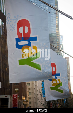 The online marketer, eBay, opens a pop-up store called eBay @ 57th in New York - Stock Photo