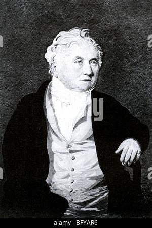 WILLIAM COBBETT (1763-1835) English radical journalist, MP and farmer - Stock Photo