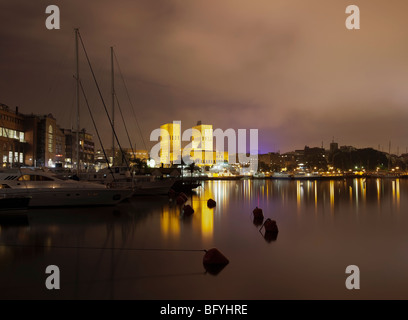 Oslo City Hall and Harbour - Stock Photo