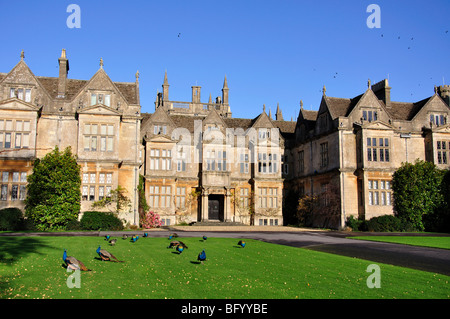 Corsham Court, Corsham, Wiltshire, England, United Kingdom - Stock Photo
