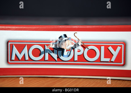 Monopoly board game - Stock Photo