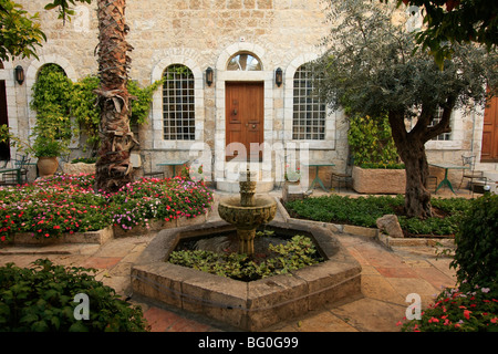 American Colony hotel in East Jerusalem - Stock Photo