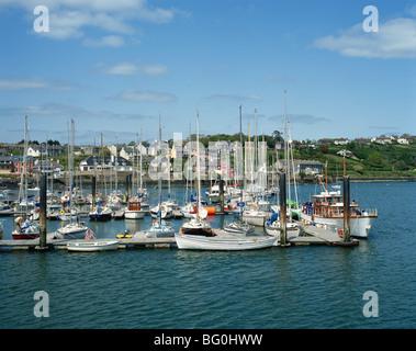 Kinsale Harbour, County Cork, Munster, Republic of Ireland, Europe - Stock Photo