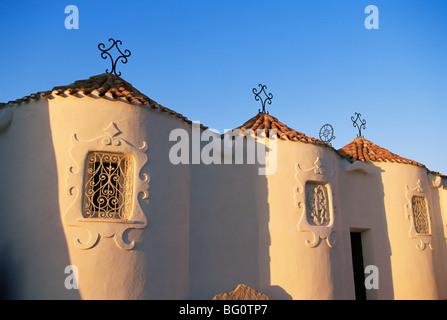 Church, Porto Cervo, Costa Smeralda, Sardinia, Italy, Europe - Stock Photo