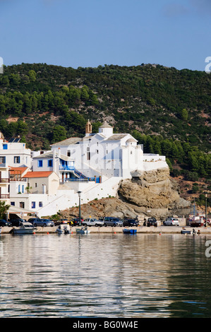 Skopelos Town, Skopelos, Sporades Islands, Greek Islands, Greece, Europe - Stock Photo