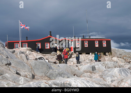 British Base and Post Office, Port Lockroy, Antarctic Peninsula, Antarctica, Polar Regions - Stock Photo