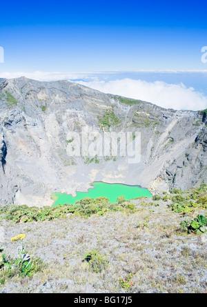 Irazu volcano, Irazu Volcano National Park, Cartago Province, Costa Rica, Central America