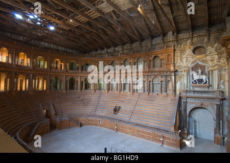 Farnese Theatre in the Pilotta Palace, Parma, Emilia-Romagna, Italy, Europe - Stock Photo