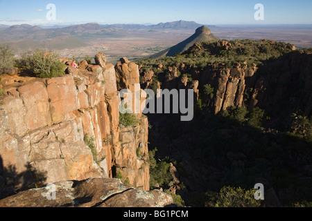 Desolation Valley, Camdeboo National Park, Graaff-Reinet, Eastern Cape, South Africa, Africa - Stock Photo
