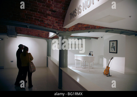 The Beatles Story museum at Albert Dock, Liverpool, Merseyside, England, United Kingdom, Europe - Stock Photo