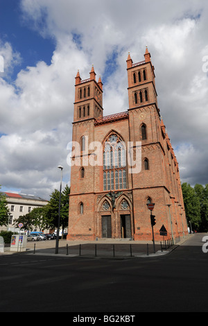 Berlin. Germany. Friedrichswerder Kirche aka Schinkel Museum. Stock Photo