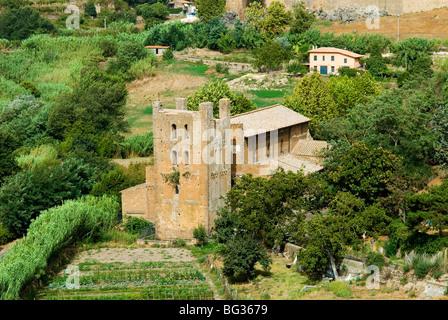 Santa Maria Maggiore church, Tuscania, Viterbo, Latium, Lazio, Italy, Europe - Stock Photo