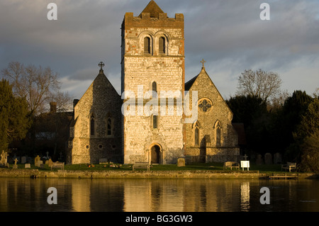 All Saints Church, Bisham, UK - Stock Photo