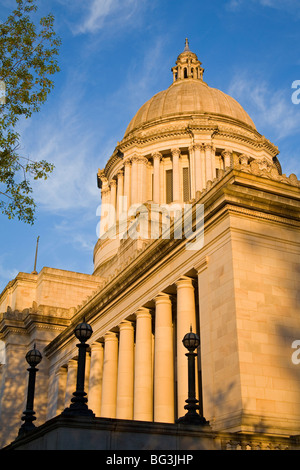 State Capitol, Olympia, Washington State, United States of America, North America - Stock Photo