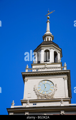 Independence Hall, Independence National Historical Park, Old City District, Philadelphia, Pennsylvania, USA - Stock Photo