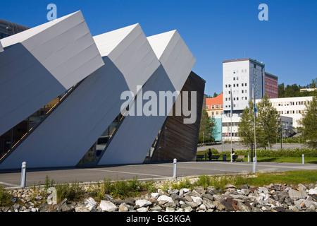 Polaria Museum, Tromso City, Troms County, Norway, Scandinavia, Europe - Stock Photo