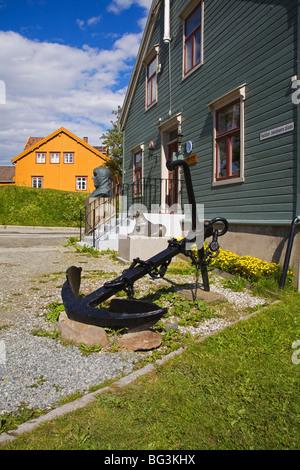Polarmuseet (Polar Museum), Tromso City, Troms County, Norway, Scandinavia, Europe - Stock Photo